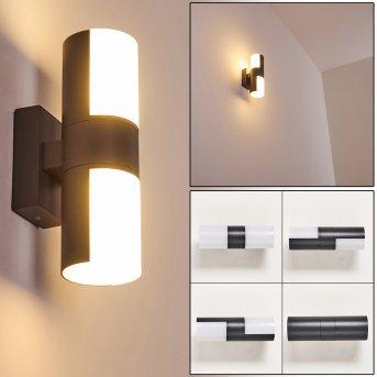Baulund Außenwandleuchte LED Anthrazit, 1-flammig