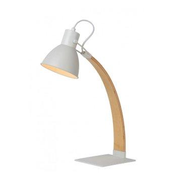 Lucide CURF Tischlampe Weiß, 1-flammig
