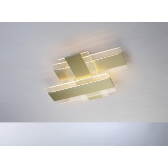 Escale PLANUS Deckenleuchte LED Gold, 1-flammig