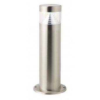 Brilliant Avon Außensockelleuchte LED Edelstahl, 1-flammig