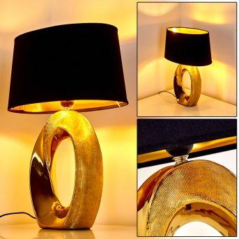 Rovio Tischleuchte Gold, 1-flammig
