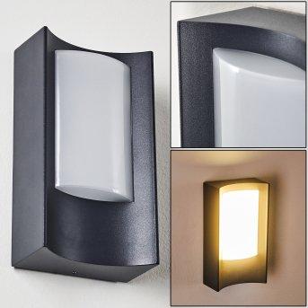 Nordkapp Außenwandleuchte LED Anthrazit, 1-flammig