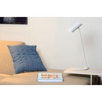 Lucide HESTER Schreibtischlampe Weiß, 1-flammig