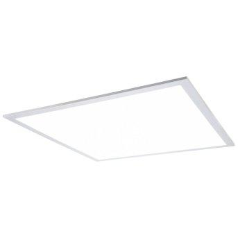Nino Leuchten PANELO Deckenleuchte LED Silber, 1-flammig