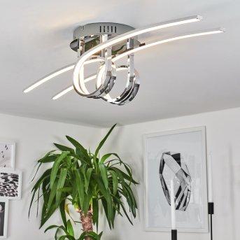 Casale Deckenleuchte LED Chrom, 2-flammig