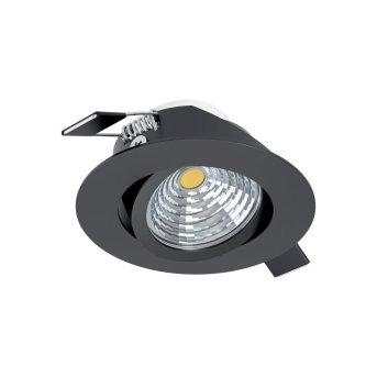 Eglo SALICETO Einbauleuchte LED Schwarz, 1-flammig