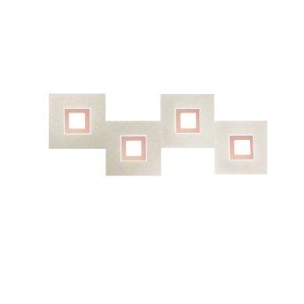 Grossmann KARREE Deckenleuchte LED Kupfer, 4-flammig