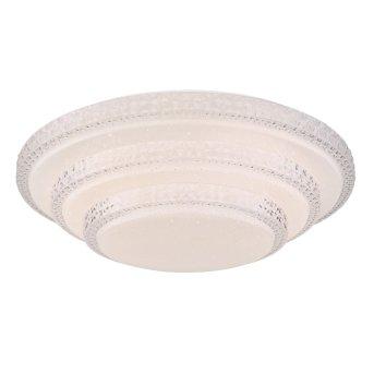 Globo RITA Deckenleuchte LED Weiß, 1-flammig, Fernbedienung