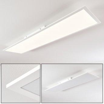 Antria Deckenpanel LED Weiß, 1-flammig