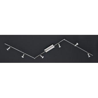 Wofi NINI Deckenleuchte LED Nickel-Matt, 6-flammig