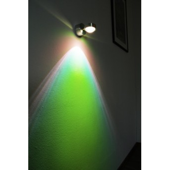 Harare Wandleuchte LED Aluminium, 1-flammig