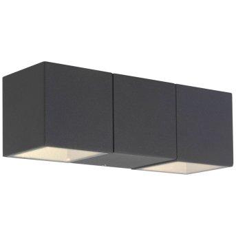 AEG Daveen Außenwandleuchte LED Anthrazit, 2-flammig