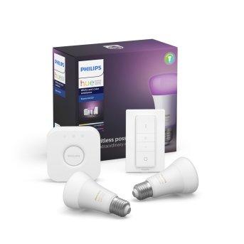 Philips Hue LED Ambiance White & Color E27 2er Starter-Set