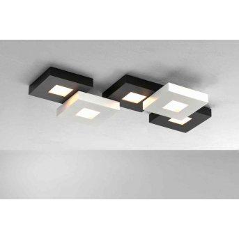 Bopp CUBUS Deckenleuchte LED Schwarz, Weiß, 5-flammig