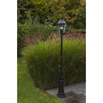 Lutec LONDON Wegleuchte LED Schwarz, 3-flammig