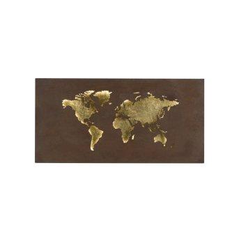 WOFI LINDA Wandleuchte LED Gold, 1-flammig