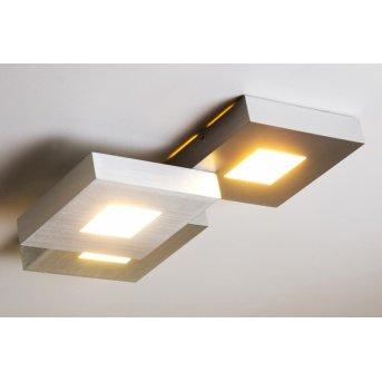 Bopp Leuchten CUBUS Deckenleuchte LED Aluminium, 3-flammig