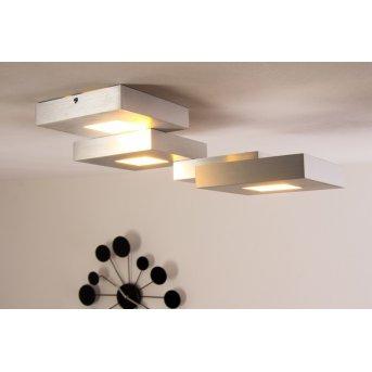 Bopp Leuchten CUBUS Deckenleuchte LED Aluminium, 4-flammig