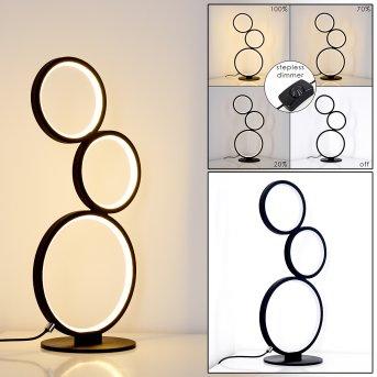 Rodekro Tischleuchte LED Schwarz, 1-flammig