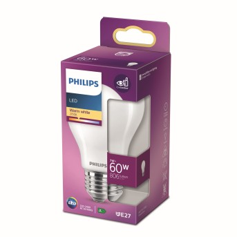 Philips LED E27 7 Watt 2700 Kelvin 806 Lumen