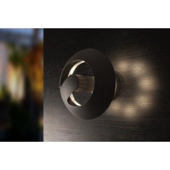 LUTEC Spril Aussenwandleuchte LED Anthrazit, 8-flammig