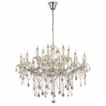 Ideal Lux FLORIAN Kronleuchter Chrom, 18-flammig