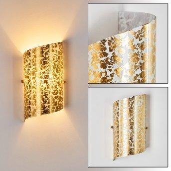 Pordenone Wandleuchte Gold, 1-flammig