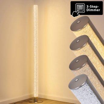 Pipe Stehleuchte LED Nickel-Matt, 1-flammig