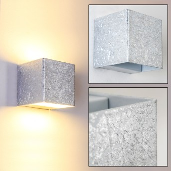 Olbia Wandleuchte LED Silber, 1-flammig