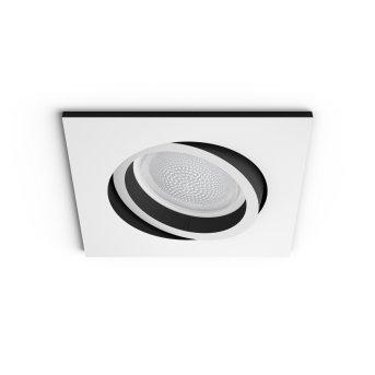 Philips Hue Ambiance White & Color Centura Einbauspot Erweiterung Weiß, 1-flammig, Farbwechsler