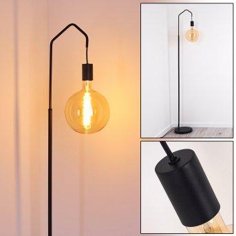 Cuyama Stehlampe Schwarz, 1-flammig