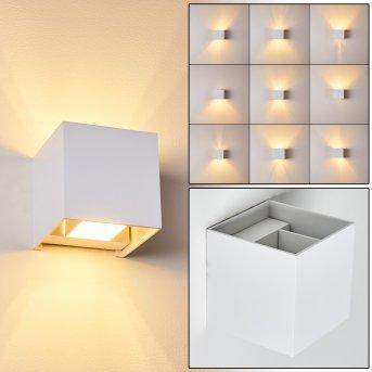 Badajoz Wandleuchte LED Weiß, 1-flammig