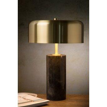 Lucide MIRASOL Tischlampe Schwarz, 3-flammig