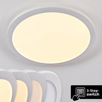 Siguna Deckenleuchte LED Weiß, 1-flammig