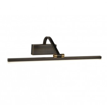 Searchlight PICTURE LIGHTS Wandleuchte LED Schwarz, Gold, 1-flammig