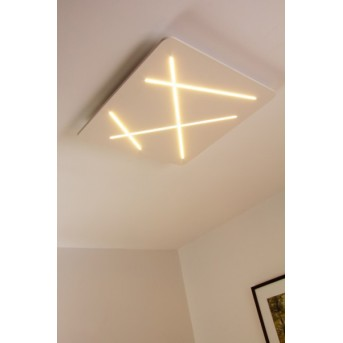 Linea Light Next Deckenleuchte LED Weiß, 1-flammig