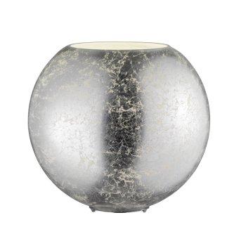 Wofi FARA Tischlampe Silber, 1-flammig