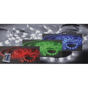 Paul Neuhaus TEANIA Lichtstreifen LED Bunt, 1-flammig, Fernbedienung, Farbwechsler