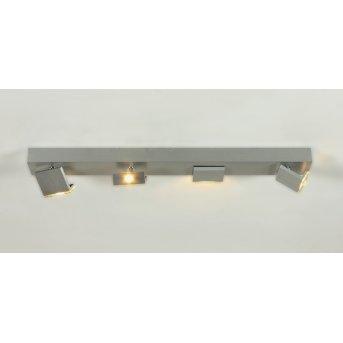 Bopp Leuchten Elle LED Spotbalken Aluminium, 4-flammig