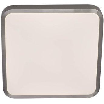 AEG Mikel Deckenleuchte LED Nickel-Matt, 1-flammig, Fernbedienung