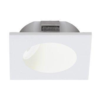 Eglo ZARATE Einbauleuchte LED Weiß, 1-flammig