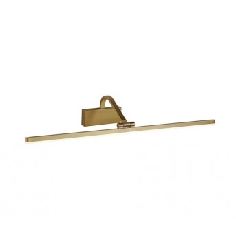 Searchlight PICTURE LIGHTS Wandleuchte LED Gold, 1-flammig