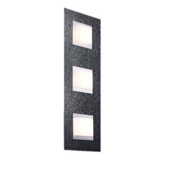 Grossmann BASIC Wandleuchte LED Anthrazit, 3-flammig