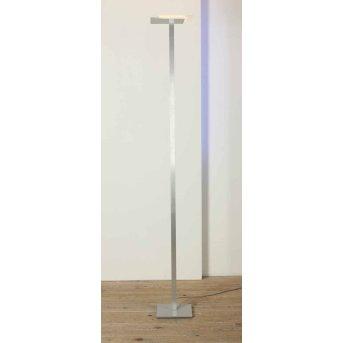 Bopp FLAT Deckenfluter LED Aluminium, 7-flammig