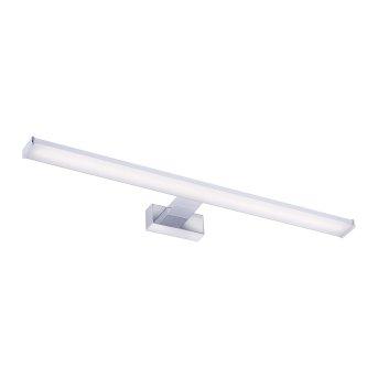 Leuchten Direkt MATTIS Spiegelleuchte LED Chrom, 1-flammig