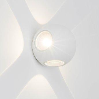AEG Gus Außenwandleuchte LED Weiß, 4-flammig