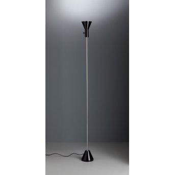 Tecnolumen ES 57 LED Fluter Chrom, Schwarz, 1-flammig