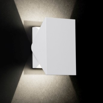 AEG Quillan Wandleuchte LED Weiß, 1-flammig