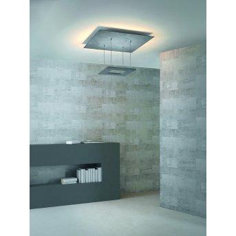 Escale ZEN D2W Deckenleuchte LED Grau, 8-flammig