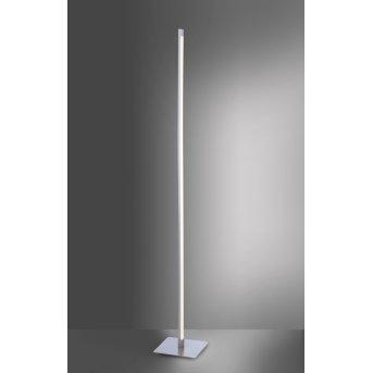 Leuchten Direkt Stehleuchte BELLA LED Edelstahl, 1-flammig